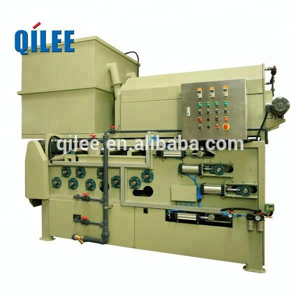 Automated activated sludge belt filter press equipment