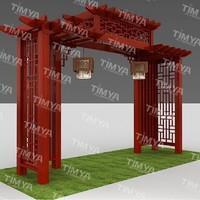 Cast Aluminum pergola garden arches and arbors designs