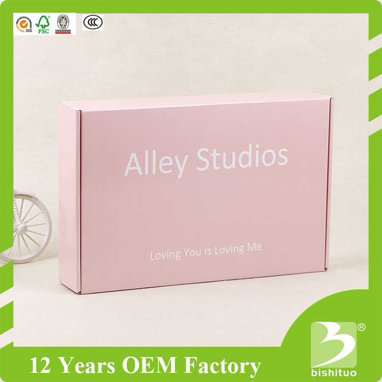 New Design Custom Color Flowers Delivery Folding Shipping Boxes