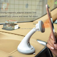 Universal Car Windshield Magnetic Phone Holder Strong Suction Mount Holder Stand for All Smartphone iPhone Magnet Phone Holder
