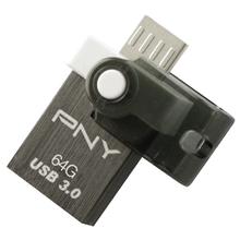 PNY OU4 Mini OTG USB USB 3 Flash Drive 16G 32G 64G USB pen drive Memory Stick Storage Device U Disk for Tablet Mobile Phone