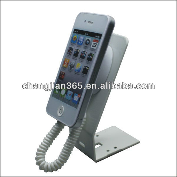 dummy phone display retractable security cable