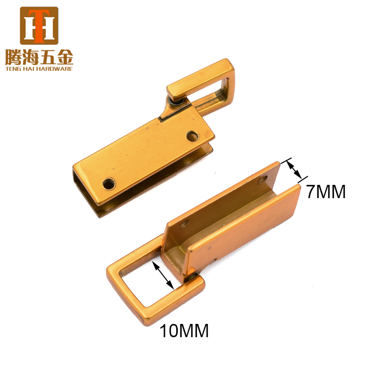 Metal handbag handle purse hardware accessories square rings buckle