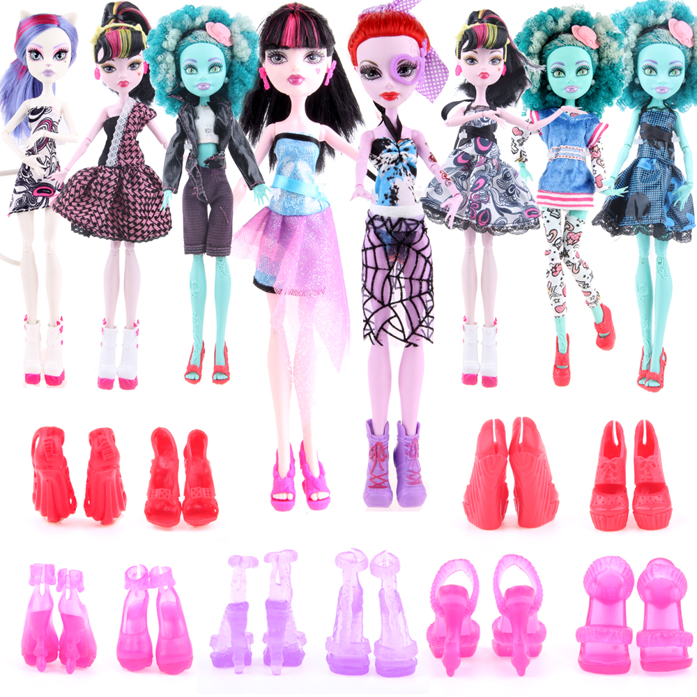 Monster High Doll Clothes And Shoes