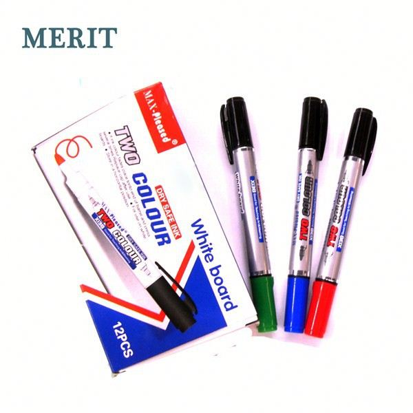 Multi-function Double colors Whiteboard Marker for School Kids