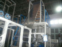 Ziplock film blowing machine / Ziplock bag rolls extruder