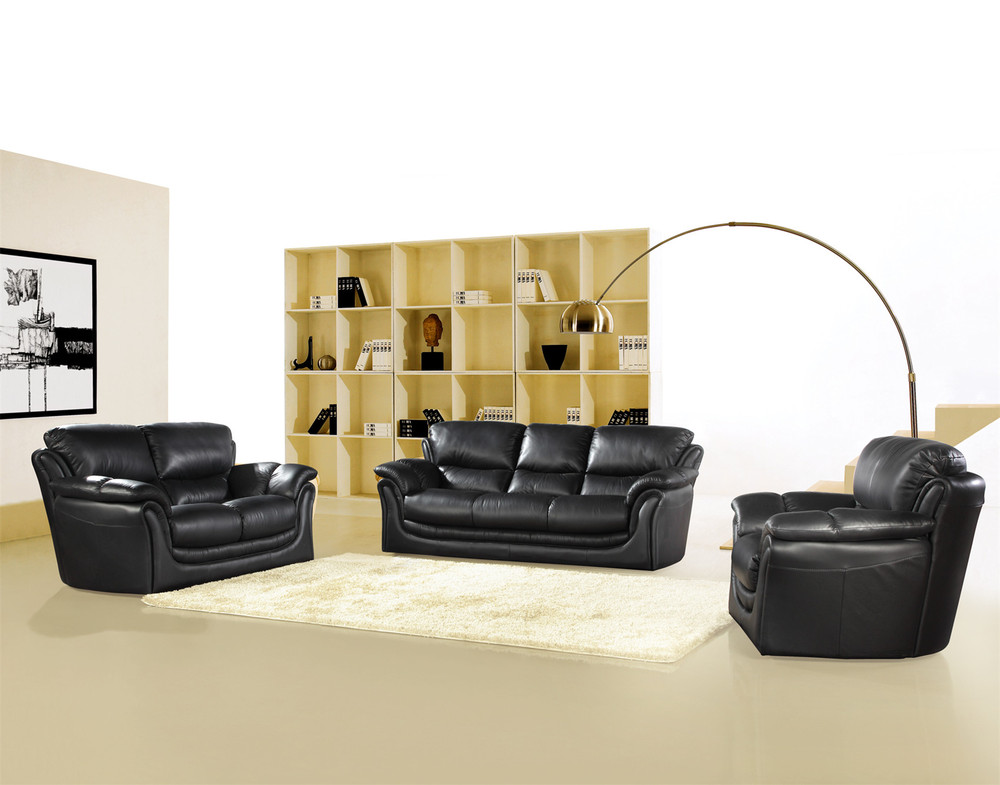2014 Hot Selling modern leather sofa set  with italian designer sofas # 558