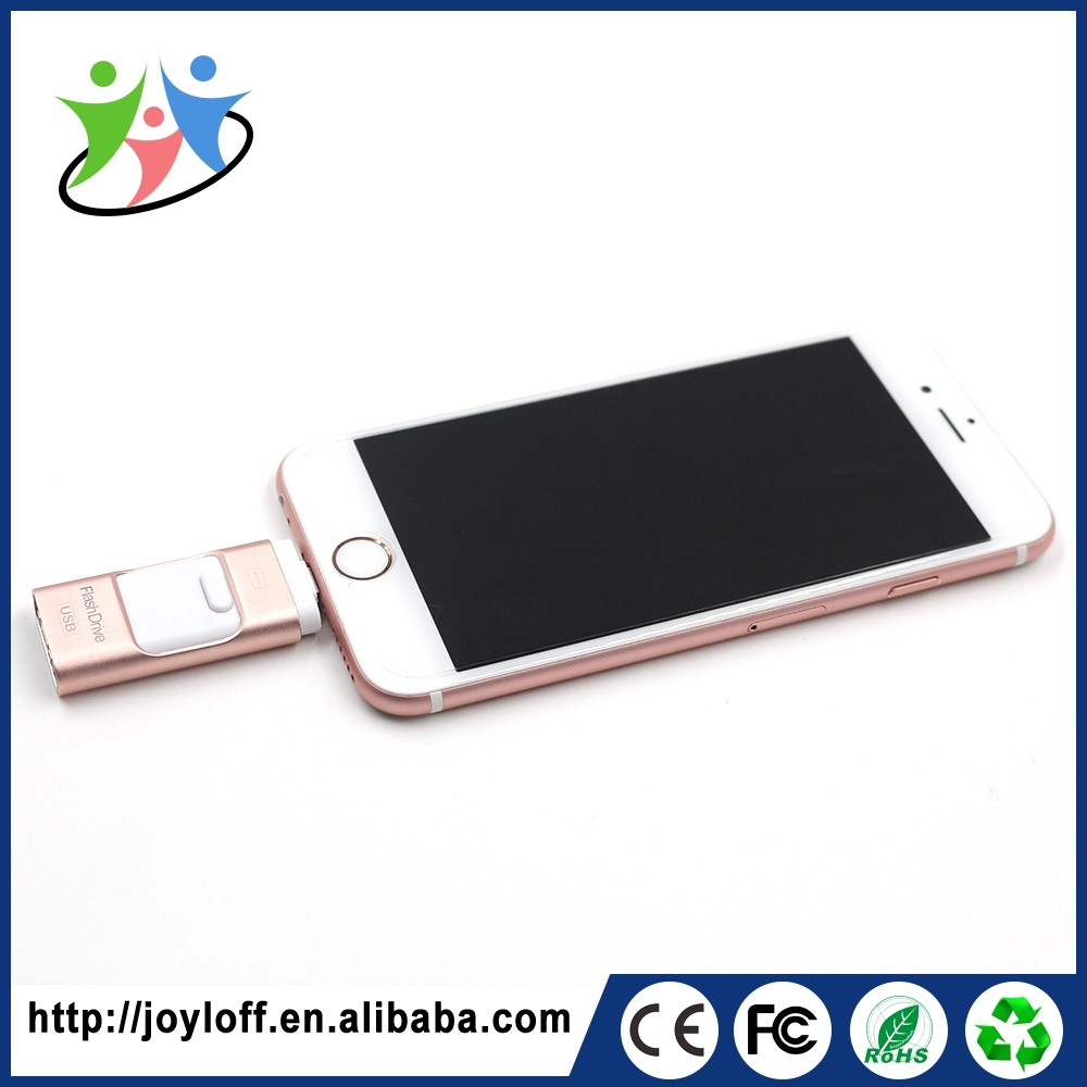 Fashionable Dual Port Otg Mobile Phone Kids Usb Flash Drive