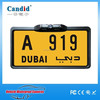Whatproof Night vision CCD rear view backup license plate camera for Dubai
