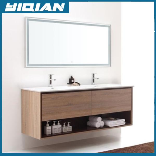 Plywood Veneer Melamine Bathroom Washing Basin Furniture With ...