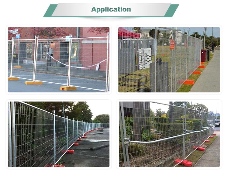 Galvanized Australia movable temporary fence