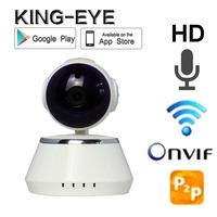 Pan and Tilt 720P IR-CUT Home Security P2P wifi camera housing