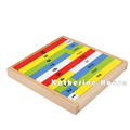 Baby Toy Montessori Math Early Childhood Education Preschool Training 1 10 Digit Cognitive Math Toy Teaching