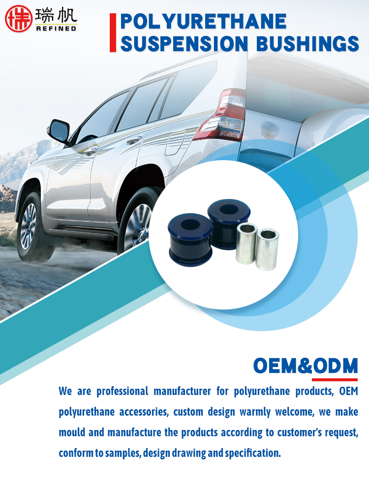 Oem Polyurethane Casting Elastomer Product Front And Rear Suspension Radius  Arm To Chassis Mount Bushing Kit For Toyota - Buy Radius Arm To Chassis