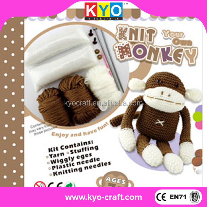Chino diy tejer crochet kit de punto de cruz, Hecho a mano crochet knitting kits