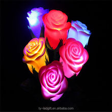 red valentine's day valentine's day gift rose led light