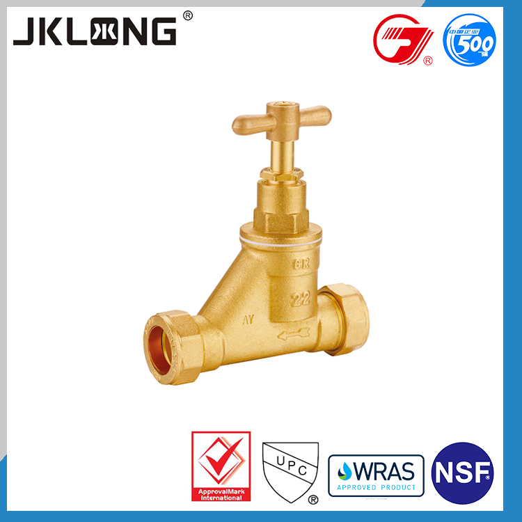 newest design top quality angle cock stop valve