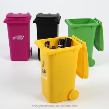 plastic smart desk tidy pp trash bin on desk mini plastic trash can rh wholesaler alibaba com Mini Metal Trash Can Mini Plastic Trash Cans