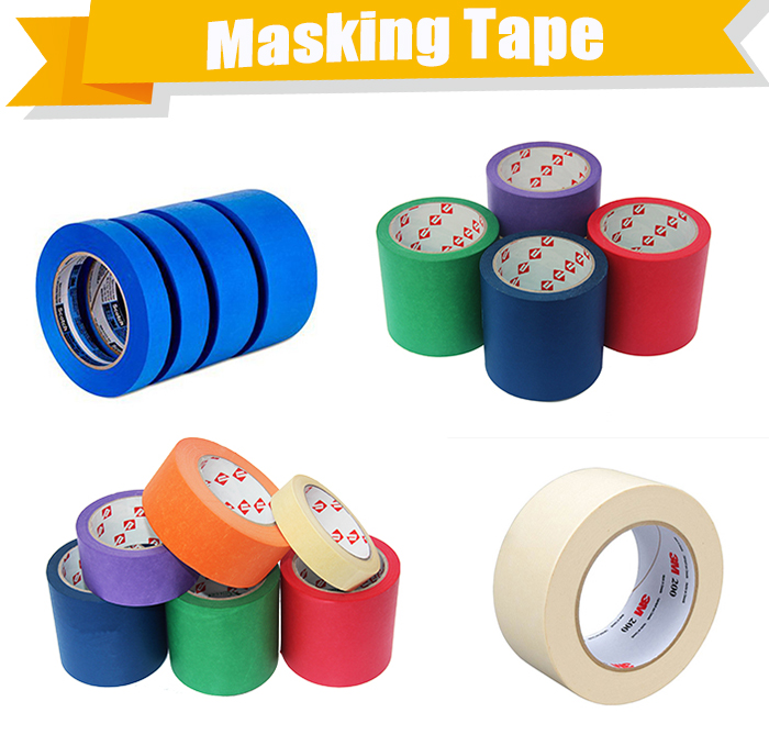 3m 233 Automotive Green Masking Tape For Painting Repair Scratched