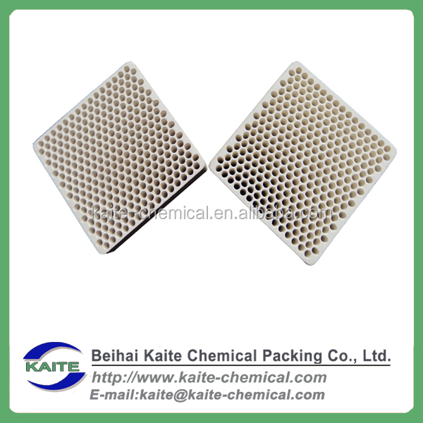 Extruded/Pressed Cellular ceramic honeycomb filter, Straight channel/hole ceramic filter