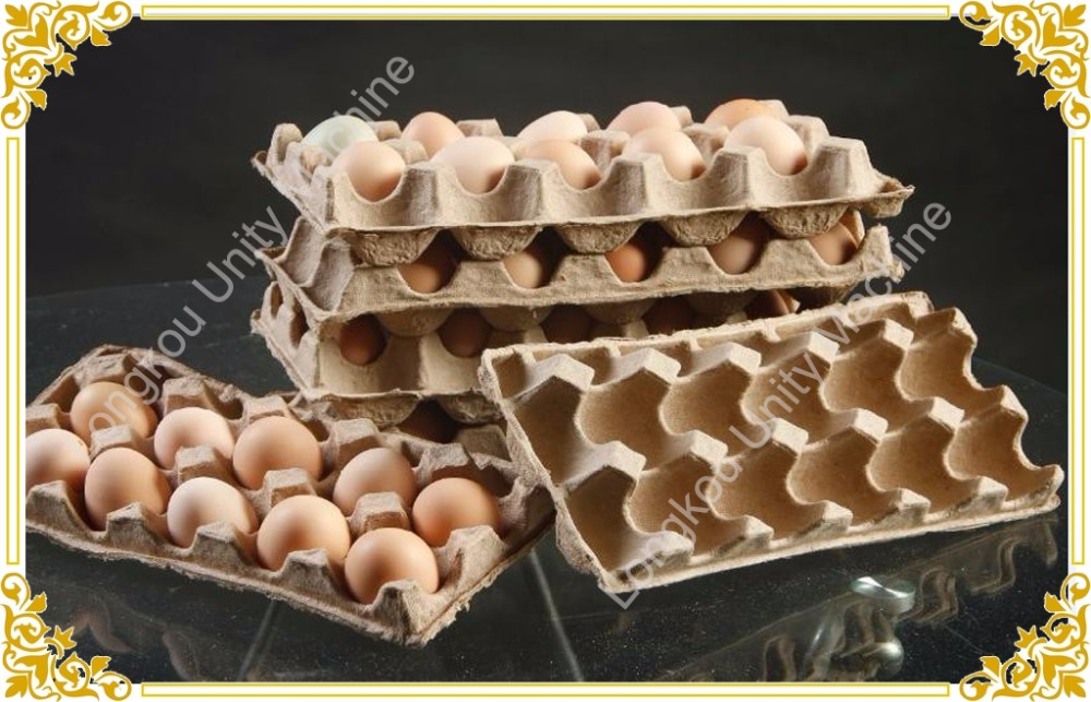 Recycling paper mill rest pulp for egg tray buy for How to make paper egg trays