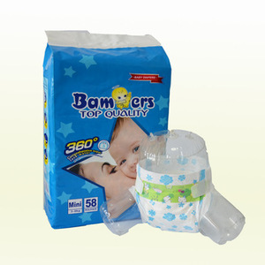 Manufacturer in China Export to Pakistan India Africa Disposable bambers Baby Diaper