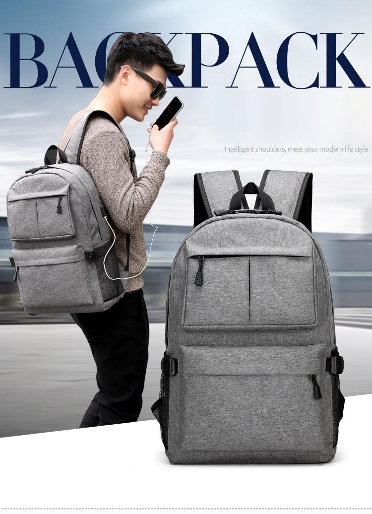d68f225dcd53 AHRI Men Business Casual Backpacks for School Travel Bag Black PU Leather Men s  Fashion Shoulder Bags Vintage Boys Men Backpack USD 43.88 piece
