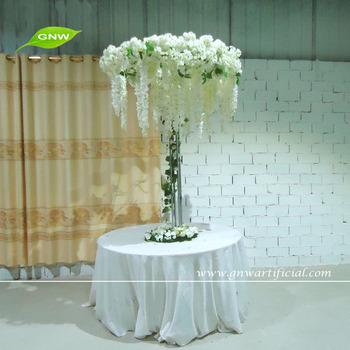 Merveilleux GNW CTR1503 Artificial Flower Trees Wedding Table Centerpieces