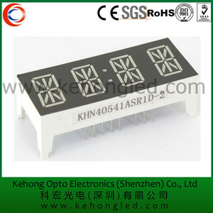 0.54'' four digital led display alphanumeric 14 segment induction cooker led numeric display
