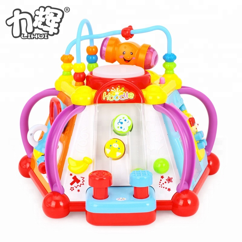 Multifunctional Baby Happy Small World Toys Kids Toy Music
