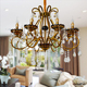 luxury fashion led pending chandelier light for Home decoration