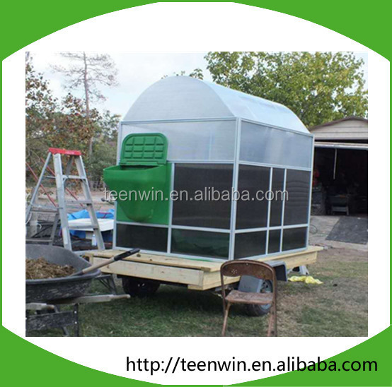Teenwin assembly membrane biogas digester for biogas
