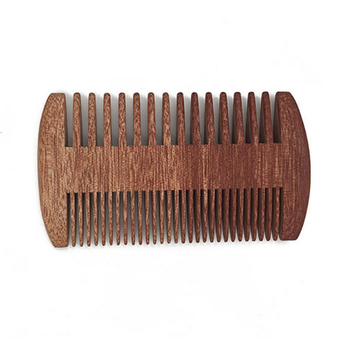 FQ brand bulk cheap custom logo wooden hair lice comb
