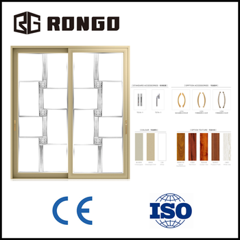 Rongo aluminum double glazing sliding window and door with for Double glazing manufacturers