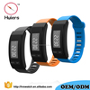 silicone sport watch with pedometer distance measuring steps Counter Time Display wrist watch