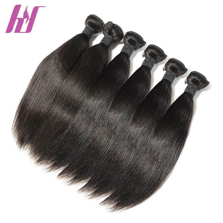 Hot sell china factory supply silky straight virgin 100 human hair bundles фото