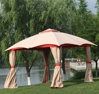 Chinese Garden Outdoor Metal Gazebo 3.5X3.5M Tent