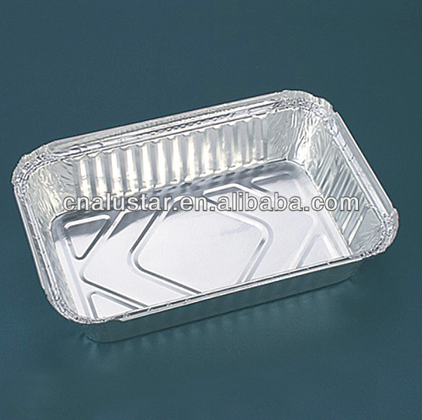 0.9L aluminium foil food containers