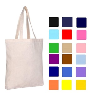 bulk blank cotton canvas tote sling bag