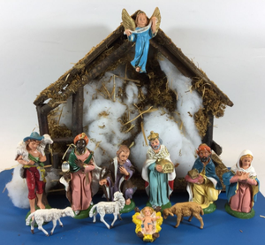 resin Nativity Scene Christmas jesus set