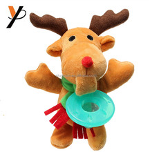 Wholesale and Customized the stuffed plush animals with baby pacifier