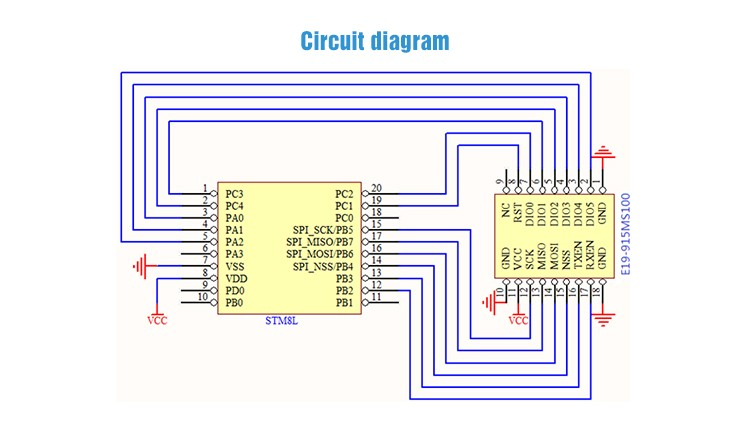 Vt-sx1278-433m wireless module user guide.