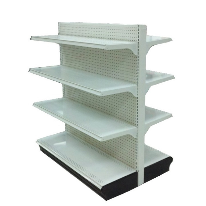 Commercial Retail Store Metal Gondola Shelving Racks