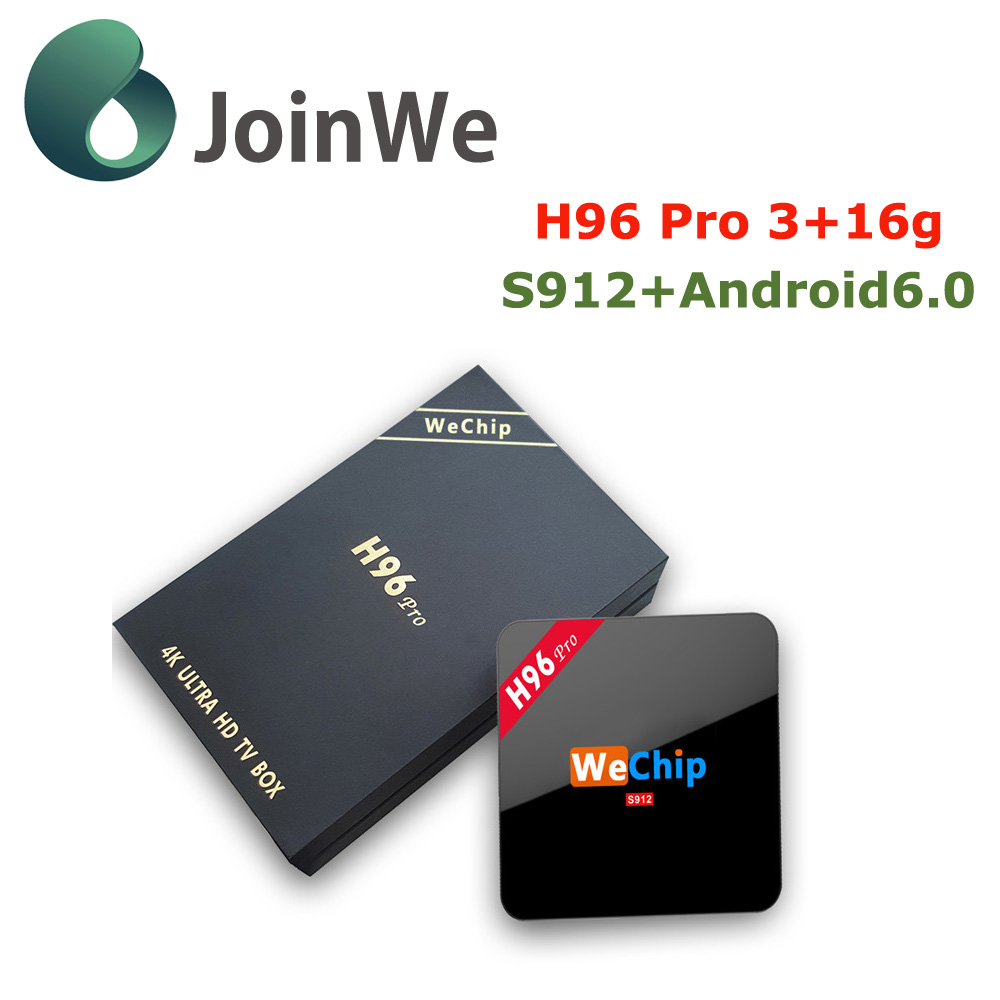 H96 Pro Plus 3gb Ddr3 32gb Emmc Amlogic S912 Arabic Tv Box Buy Android Octacore Boxh96 Product On