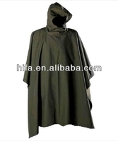 2015 new style of waterproof military poncho