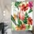 3D Hotel Room Animal Flamingo Series Non Fading Fabric Polyester Fiber Polyester Fiber Waterproof Window Door Shower Curtain