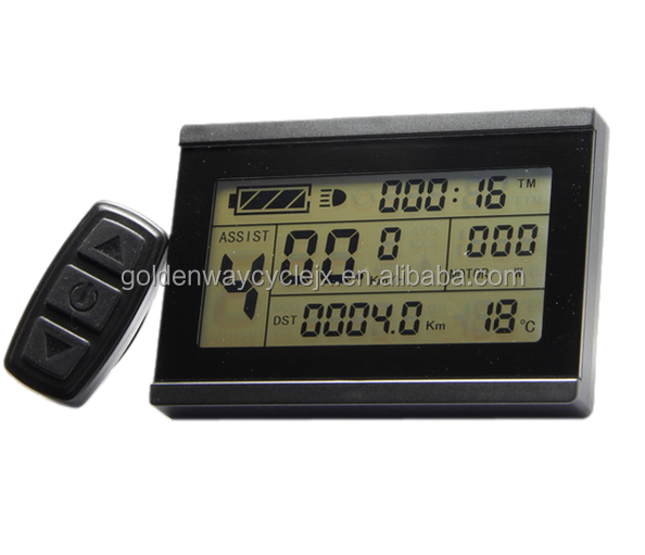 Ebike 24v 36v 48v Intelligent Black Kt Lcd5 Control Panel Lcd Display Electric Bicycle Bike Parts For Kt Controller Chargers & Service Equipment