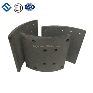 Good Brand Asbestos free Drum top quality for Truck FMSI1308 tata brake lining