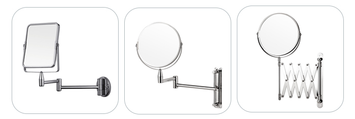 Best Tabletop Two-Sided Swivel Round Vanity Mirror for Bedroom or Bathroom