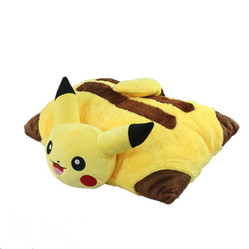 peluche oreiller Kawaii Pikachu En Peluche Jouets 40 cm Pikachu En Peluche Oreiller  peluche oreiller
